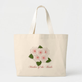 KRW Cherry Blossoms Mother of the Bride Large Tote Bag
