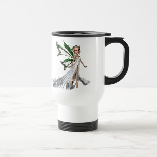 KRW Christmas Angel Travel Mug