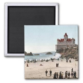 KRW Cliff House, San Fransisco 1902 Vintage Magnet