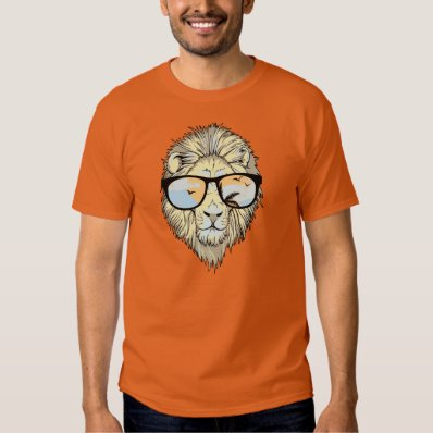 KRW Cool Lion with Shades Whimsical Tee