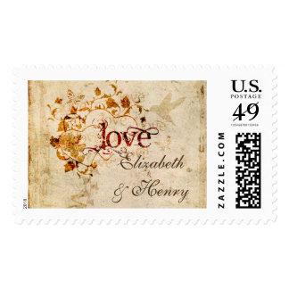KRW Corinthians Love is Custom Large Postage Stamp