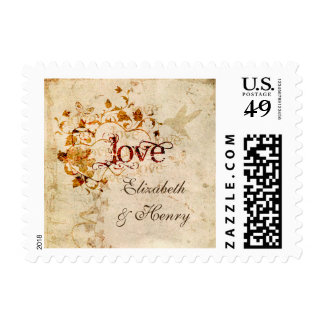 KRW Corinthians Love is Custom Small Postage Stamp