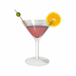 KRW Cosmopolitan Cocktail Statuette