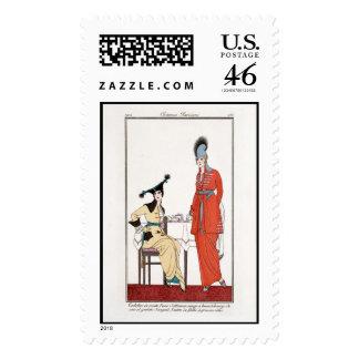 KRW Costumes Parisiens 1914 Stamp