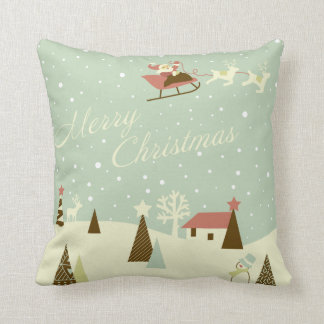 KRW Country Christmas Santa Pillow