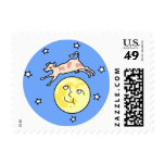 KRW Cow Jumped Over the Moon Nursery Rhyme Stamp