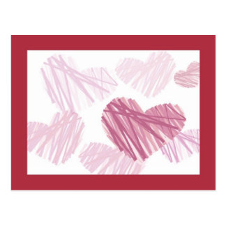 KRW Crayon Hearts Save the Date Card