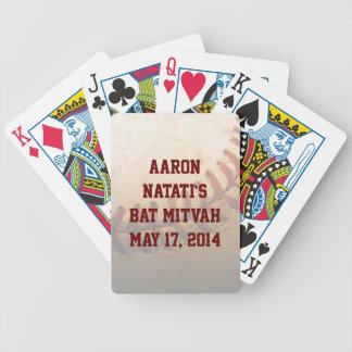KRW Custom Baseball Bat Mitzvah Playing Card Deck
