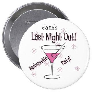KRW Custom Bride's Last Night Out Bachelorette Pin