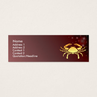 KRW Custom Cancer Zodiac Sign Profile Card