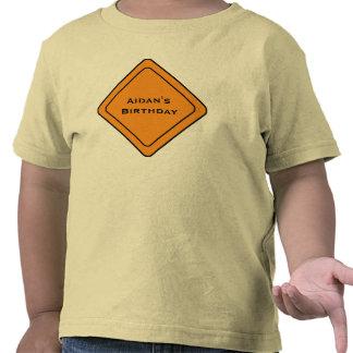 KRW Custom Construction Sign T-Shirt