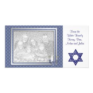 KRW Custom Hanukkah Photo Card