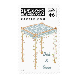 KRW Custom Jewish Wedding Canopy Stamp