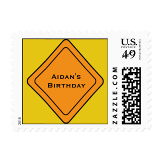 KRW Custom Name Construction Sign Stamp
