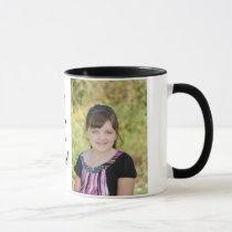 KRW Custom Photo Gift Mug with Custom Text