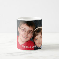 KRW Custom Photo Mug with Text