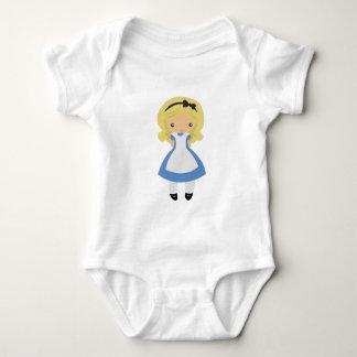 KRW Cute Alice in Wonderland Baby Bodysuit