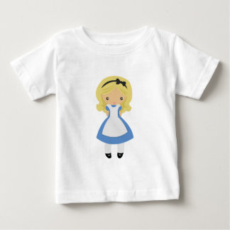 KRW Cute Alice in Wonderland Baby T-Shirt