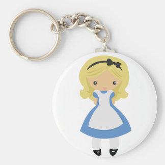 KRW Cute Alice in Wonderland Key Chain