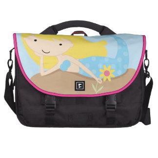 KRW Cute Blue Mermaid Messenger Bag Commuter Bag