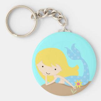 KRW Cute Green Mermaid Keychain