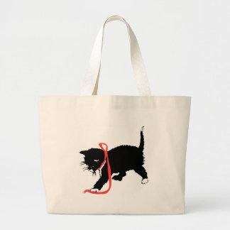 KRW Cute Kitten Tote Bag