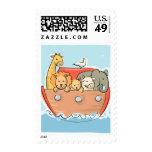 KRW Cute Noah's Ark Baby Stamps