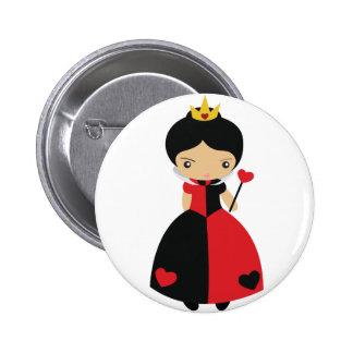 KRW Cute Queen of Hearts Pins