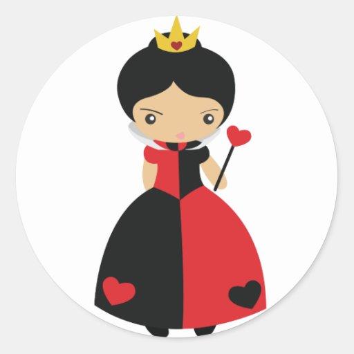 KRW Cute Queen of Hearts Sticker