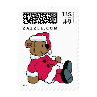 KRW Cute Santa Teddy Bear Postage