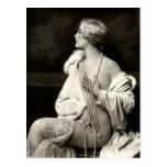 KRW Daring Darling Vintage Risque Photo Postcard