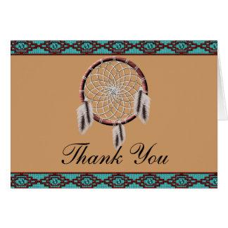 KRW Dreamcatcher Native American Thank You Card