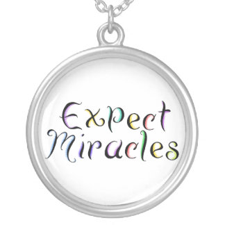 KRW Expect Miracles Inspirational Necklace