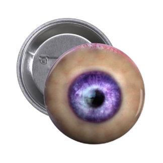 KRW Eye of the Monster Halloween 2 Inch Round Button