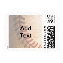 KRW Faded Baseball Custom Text Stamp