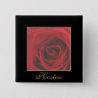KRW Faded Rose Hostess Button Custom Request