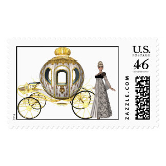 KRW Fairy Tale Wedding Postage Stamps
