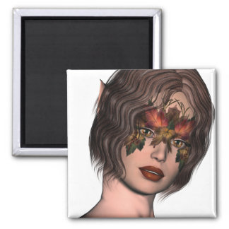 KRW Fall Masked Faery Refrigerator Magnets