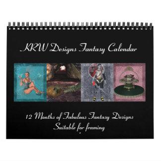 KRW Fantasy Art 2012 Calendar