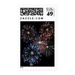 KRW Festive Fireworks Postage Stamps