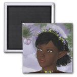 KRW Floral Fairy Fantasy Refrigerator Magnet
