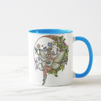 KRW Floral Moon Faery Duo Mug