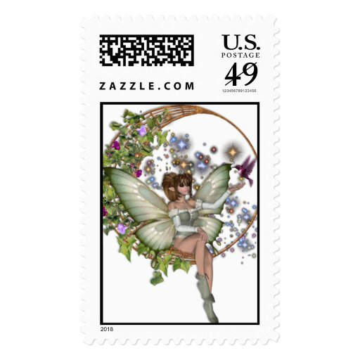 KRW Floral Moon Faery Stamps