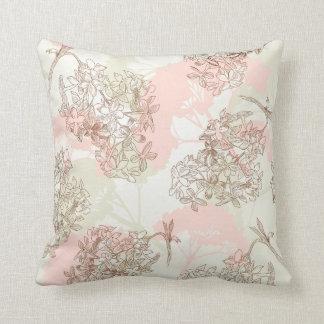 KRW Floral Sketch Decor Pillow