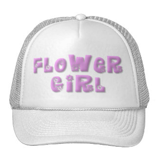 KRW Flower Girl Baseball Cap Hats
