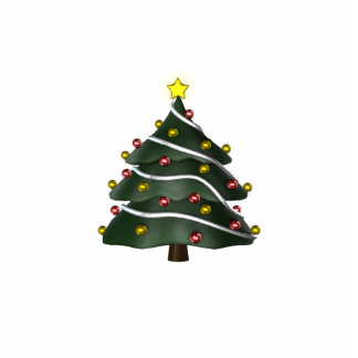 KRW Fun Christmas Tree Pin Statuette