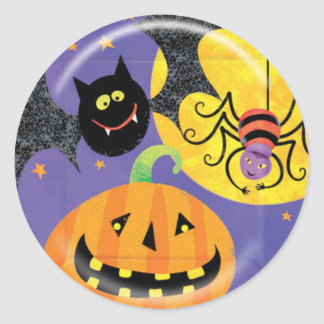 KRW Fun Halloween Friends Sticker