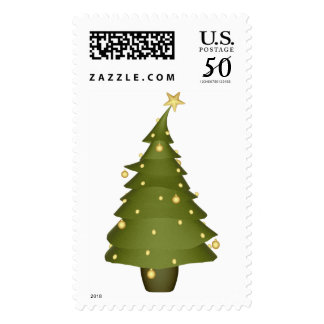 KRW Fun Little Christmas Tree Holiday Stamp