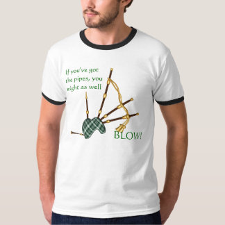 KRW Funny BagPipe Shirt