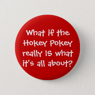 KRW Funny Hokey Pokey Joke Button